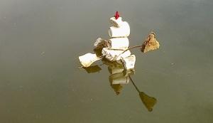 """""""Foam flotsam boat"""""""