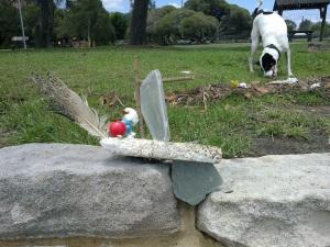 sailing flotsam sculpture