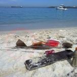 Flotsam, timber, jazz, recycle, beach-combing.