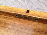 Piano lid lock